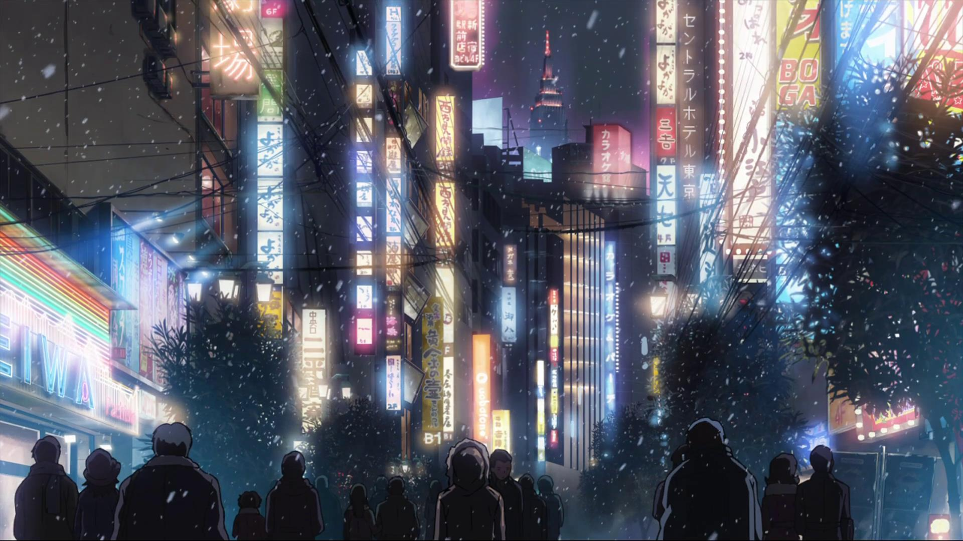 Japanese Anime City Wallpapers - Top Free Japanese Anime City Backgrounds -  WallpaperAccess