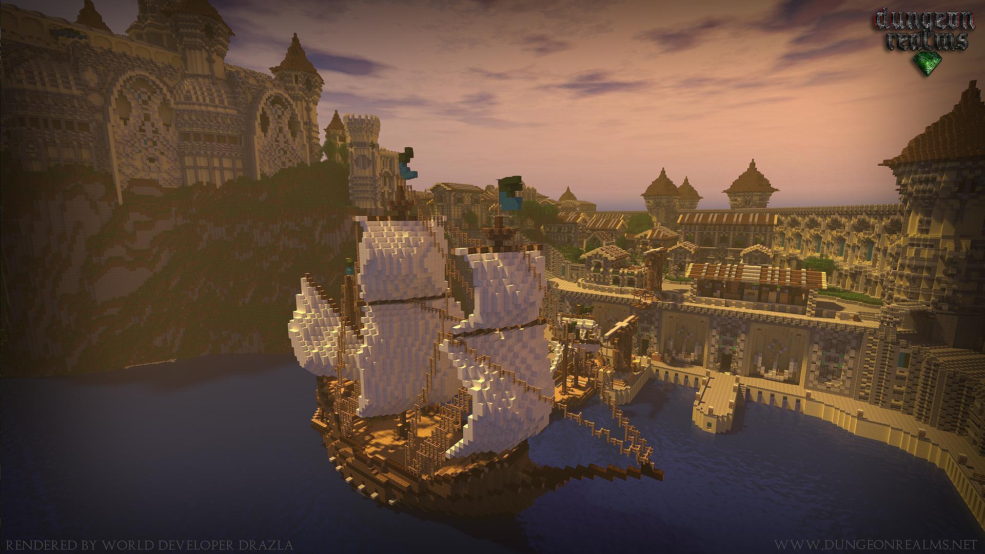 Minecraft Dock Wallpapers Top Free Minecraft Dock