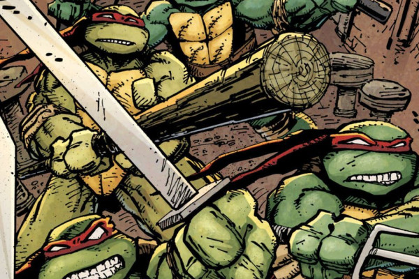Teenage Mutant Ninja Turtles Comic Book Wallpaper