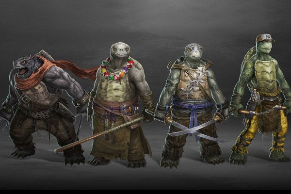 Realistic Ninja Turtles Wallpaper