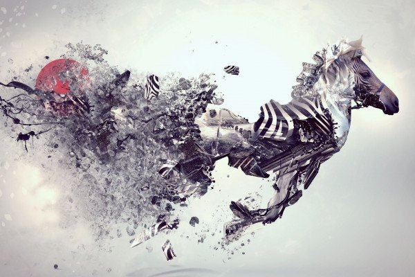 Abstract Animal Wallpaper