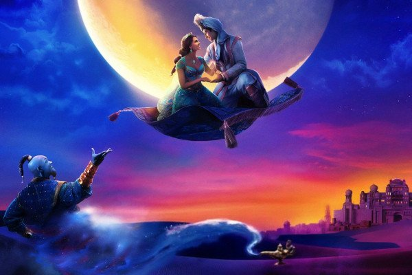 Aladdin 2019 Wallpaper