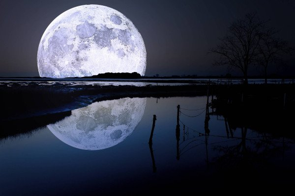 Moon Night Wallpapers Top Free Moon Night Backgrounds Wallpaperaccess