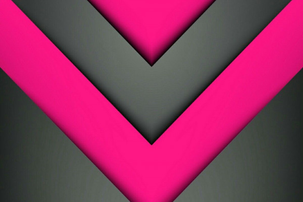 Pink and Grey Abstract Wallpaper