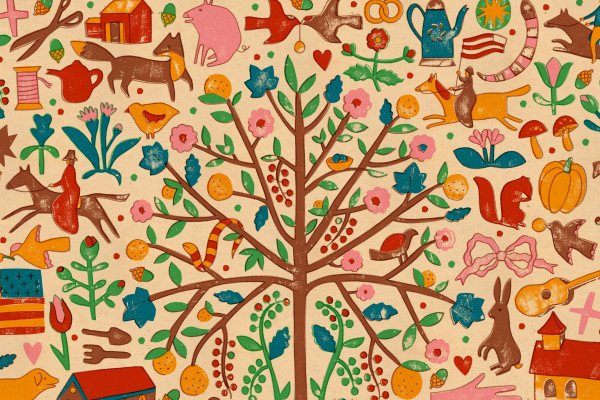 Folk Art Desktop Wallpaper