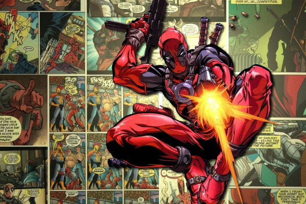 Deadpool Marvel Comic Book Wallpaper