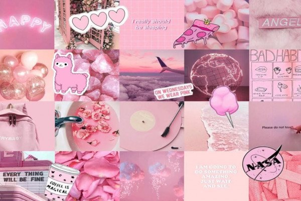 Pink Aesthetic Tumblr Laptop Wallpaper