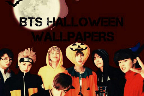 BTS Halloween Wallpaper