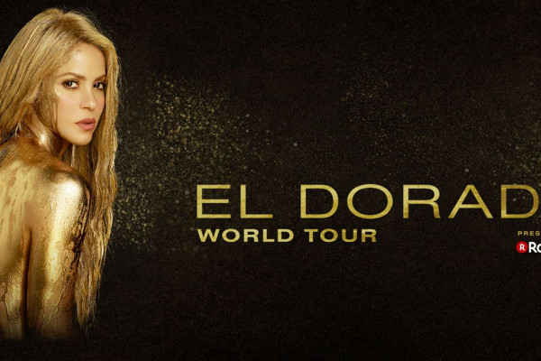 Shakira In Concert: El Dorado World Tour Wallpaper
