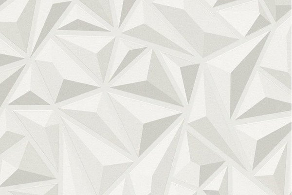 White Triangle Wallpaper