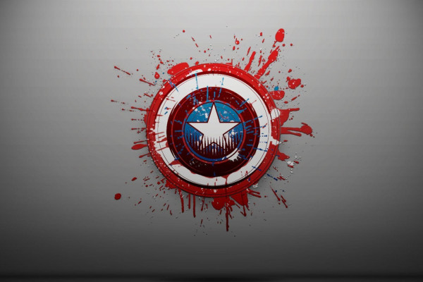 Captain America Symbol Wallpaper