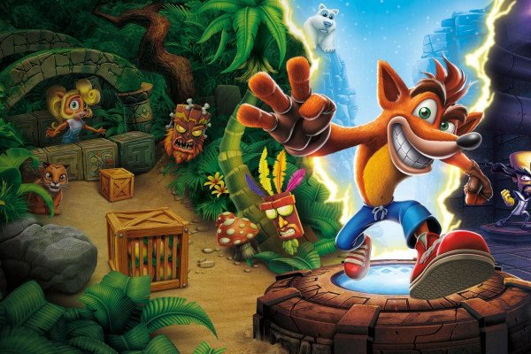 Crash Bandicoot Wallpaper