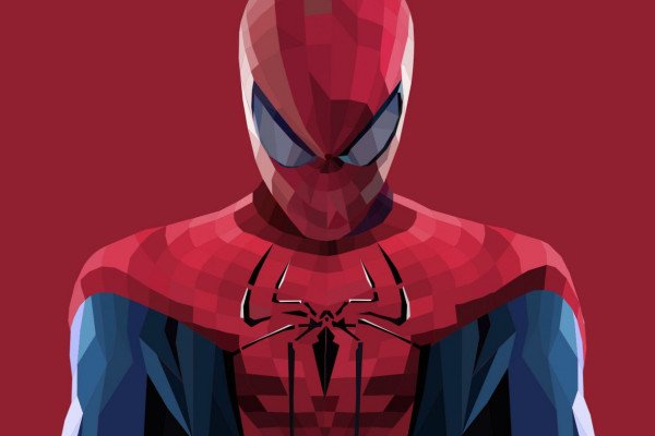 Abstract Spider-Man Wallpaper