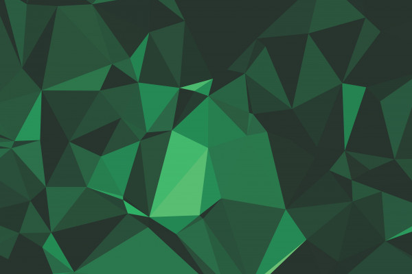 Green Polygon Wallpaper