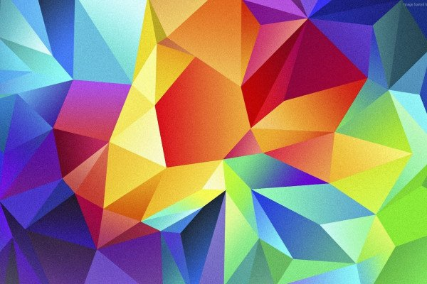 Colorful Polygon Wallpaper
