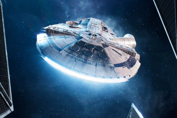 Star Wars Millennium Falcon Wallpapers Top Free Star Wars Millennium Falcon Backgrounds Wallpaperaccess
