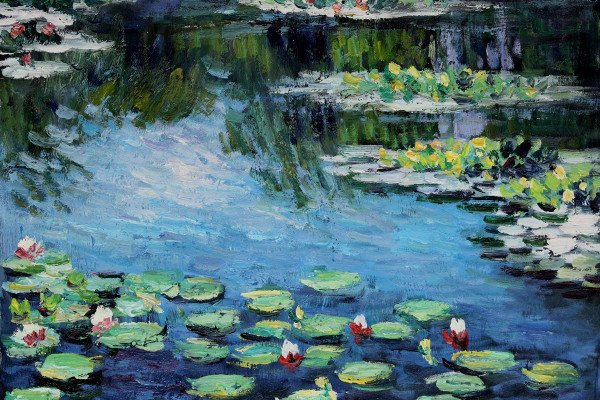 Claude Monet Water Lilies Wallpaper