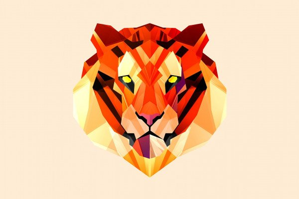 Geometric Animal Wallpaper