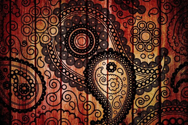 Indian Abstract Art Wallpaper