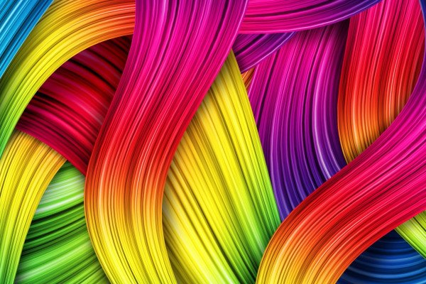 Abstract Colours Wallpaper