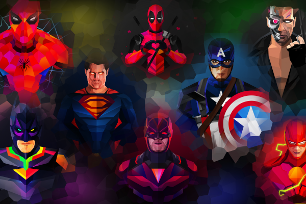 Marvel Abstract Wallpaper