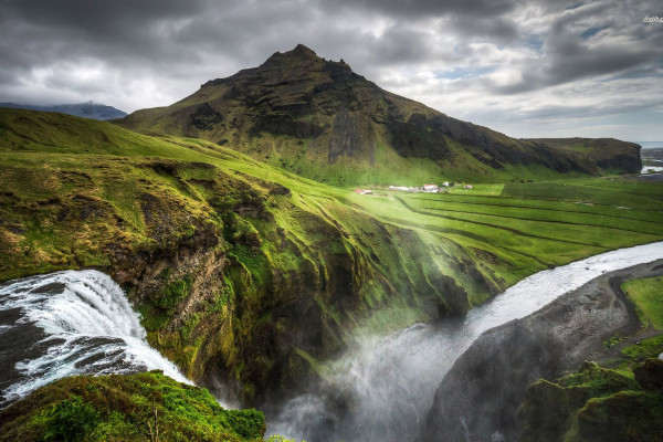 Iceland Nature Wallpaper