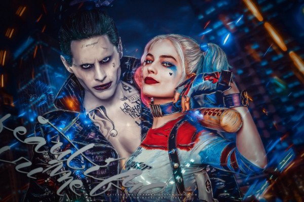 Joker and Harley Quinn Desktop Wallpaper