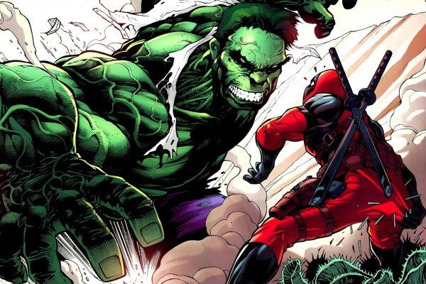 Hulk vs Deadpool Wallpaper