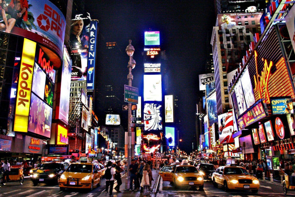 Times Square New York City Wallpapers Top Free Times Square New York City Backgrounds Wallpaperaccess