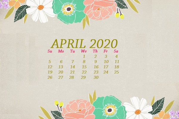 2020 Monthly Calendars Wallpapers Wallpaperaccess