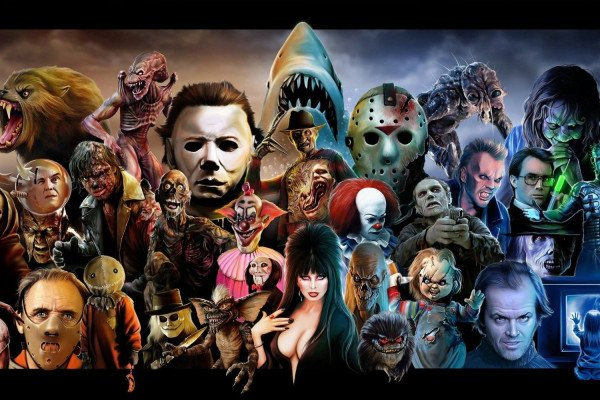 Horror Characters Wallpaper