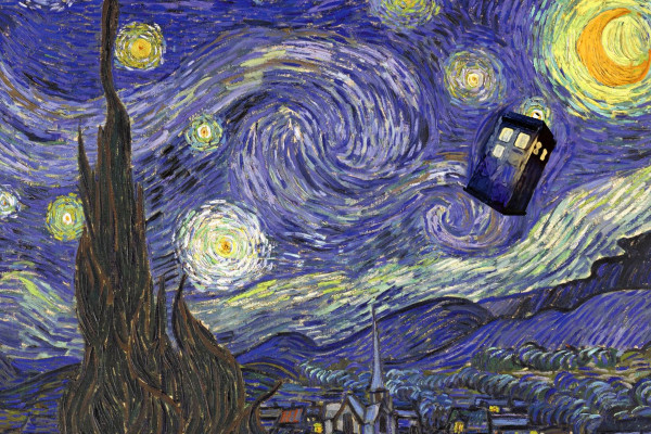 Doctor Who Starry Night Wallpaper