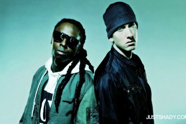 Eminem and Lil Wayne Wallpaper
