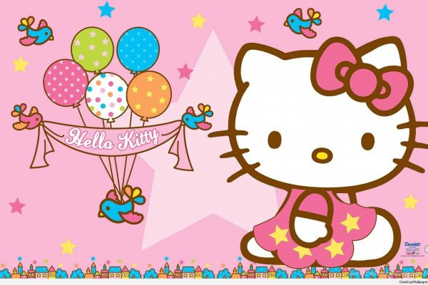 Hello Kitty Birthday Wallpaper