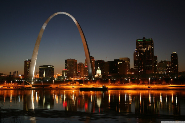 St. Louis Arch Desktop Wallpaper