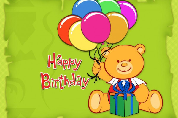 Cute Birthday Cartoon Wallpaper