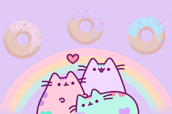 Cute Pusheen Wallpapers Top Free Cute Pusheen Backgrounds Wallpaperaccess