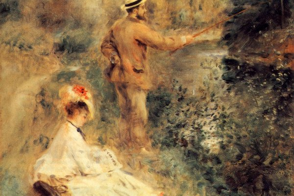 Renoir Painting Wallpaper