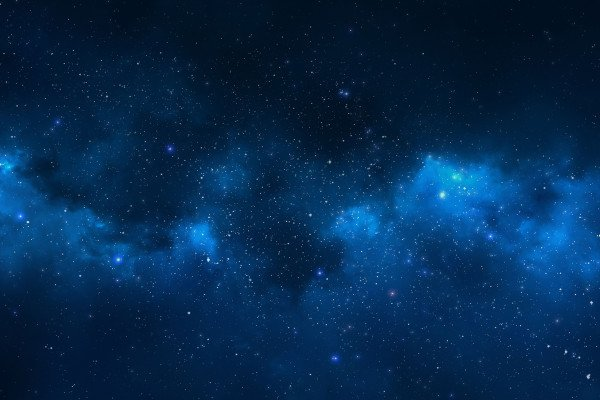 Blue Galaxy Wallpaper