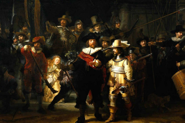 Rembrandt Paintings Wallpaper