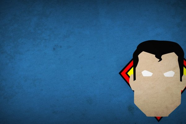 Minimalist Superhero Wallpaper