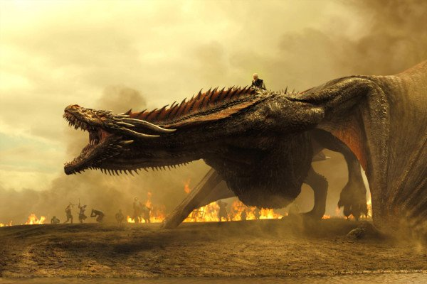 Game of Thrones Dragons Wallpaper