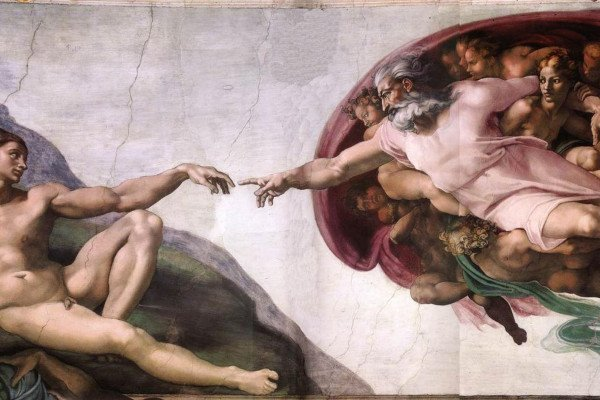 Michelangelo Paintings Wallpaper