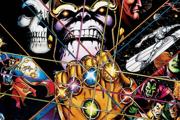 Thanos Infinity War Comic Wallpaper