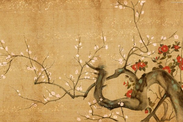 Asian Art Wallpaper