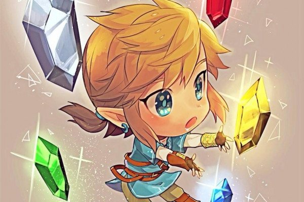 Chibi Link Wallpaper