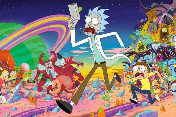 Rick And Morty Trippy Acid Wallpapers - Top Free Rick And Morty
