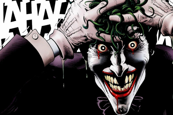 The Joker Comic Wallpaper