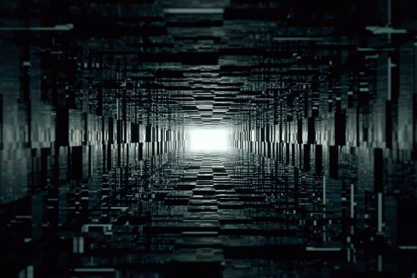 4K 3D Geometric Wallpaper