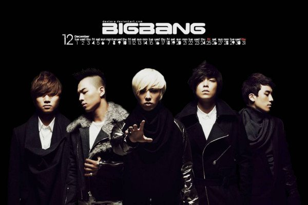 Big Bang K-Pop Wallpaper